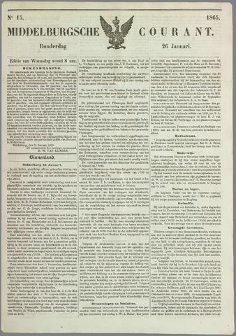 Middelburgsche Courant 1865-01-26