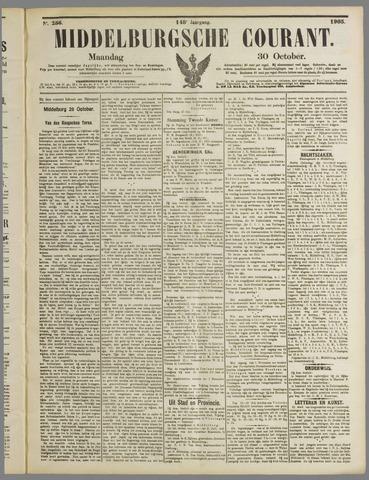 Middelburgsche Courant 1905-10-30