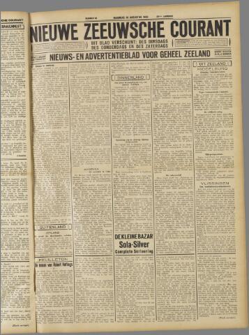 Nieuwe Zeeuwsche Courant 1933-08-14