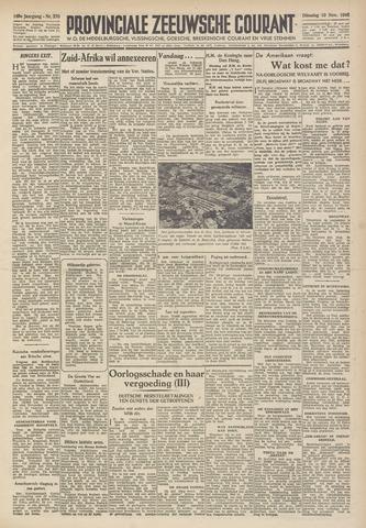 Provinciale Zeeuwse Courant 1946-11-19