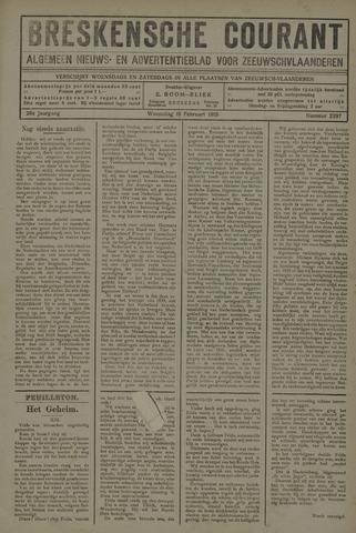 Breskensche Courant 1919-02-19