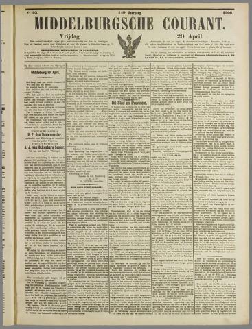 Middelburgsche Courant 1906-04-20
