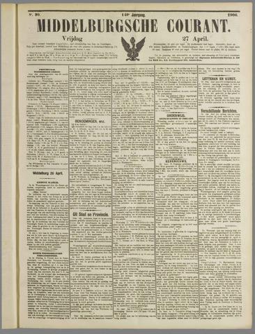 Middelburgsche Courant 1906-04-27