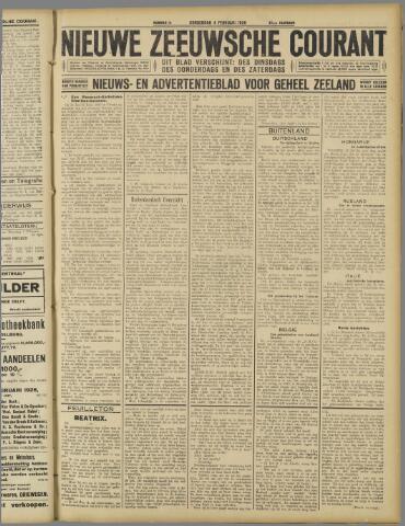 Nieuwe Zeeuwsche Courant 1926-02-04