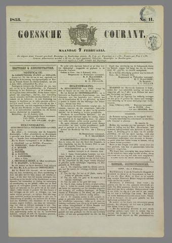 Goessche Courant 1853-02-07