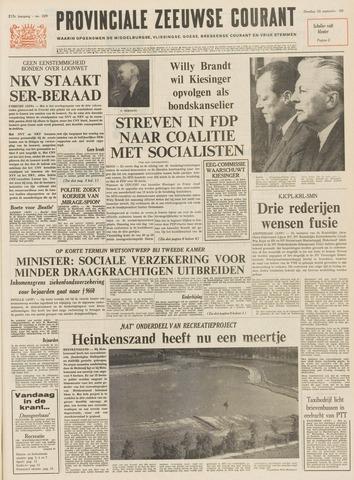 Provinciale Zeeuwse Courant 1969-09-30