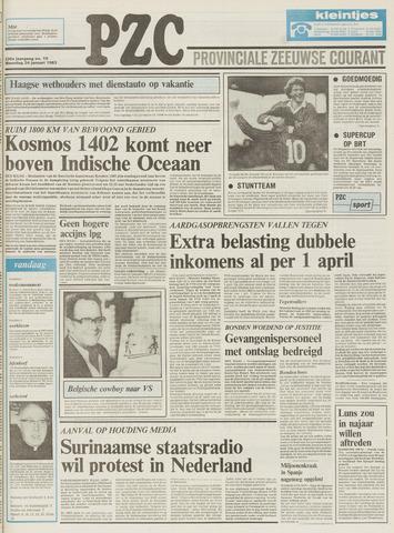 Provinciale Zeeuwse Courant 1983-01-24