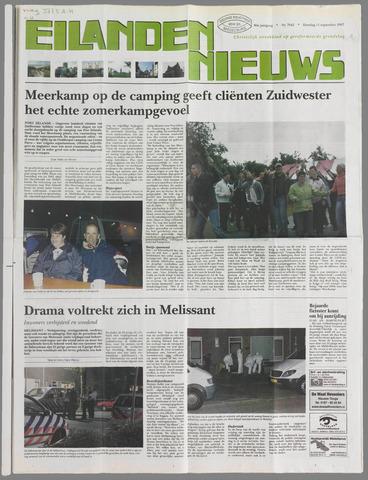 Eilanden-nieuws. Christelijk streekblad op gereformeerde grondslag 2007-09-11