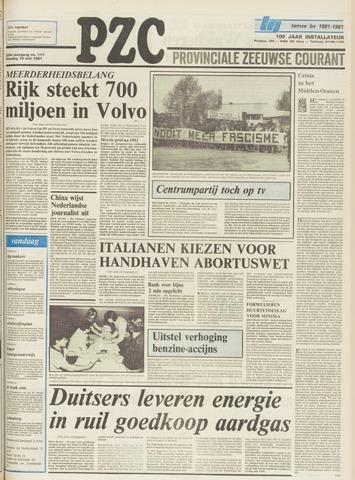 Provinciale Zeeuwse Courant 1981-05-19