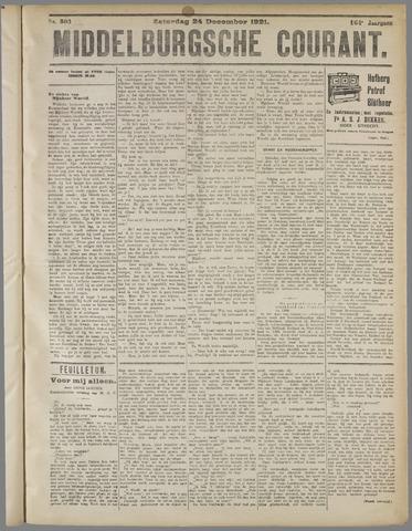 Middelburgsche Courant 1921-12-24