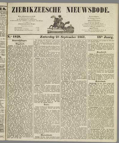 Zierikzeesche Nieuwsbode 1861-09-28