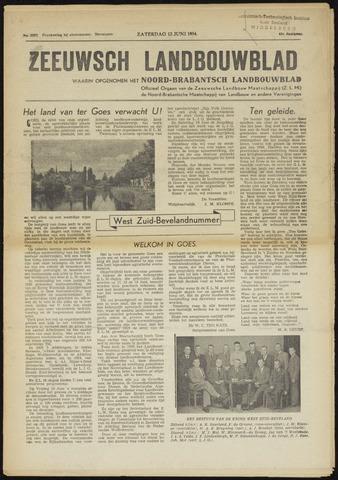 Zeeuwsch landbouwblad ... ZLM land- en tuinbouwblad 1954-06-12