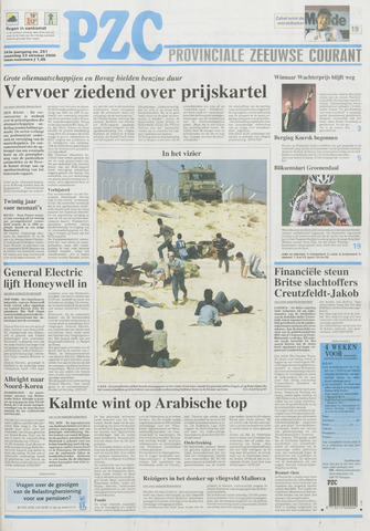 Provinciale Zeeuwse Courant 2000-10-23