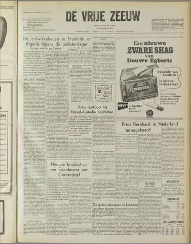 de Vrije Zeeuw 1958-05-27