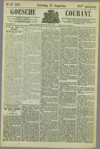 Goessche Courant 1917-08-18