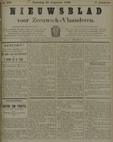 Nieuwsblad voor Zeeuwsch-Vlaanderen 1896-08-22