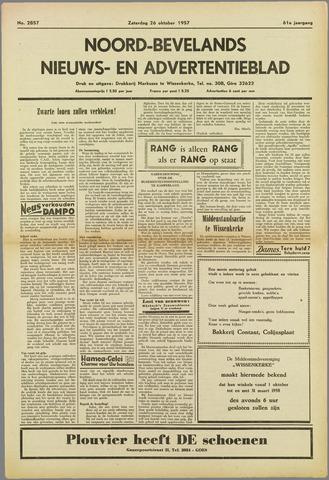 Noord-Bevelands Nieuws- en advertentieblad 1957-10-26