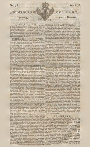 Middelburgsche Courant 1758-11-11