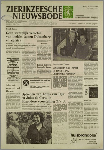 Zierikzeesche Nieuwsbode 1976-10-15