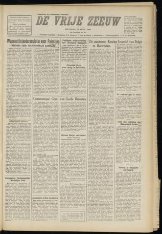 de Vrije Zeeuw 1948-04-19
