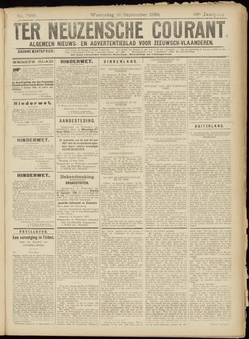 Ter Neuzensche Courant. Algemeen Nieuws- en Advertentieblad voor Zeeuwsch-Vlaanderen / Neuzensche Courant ... (idem) / (Algemeen) nieuws en advertentieblad voor Zeeuwsch-Vlaanderen 1926-09-15