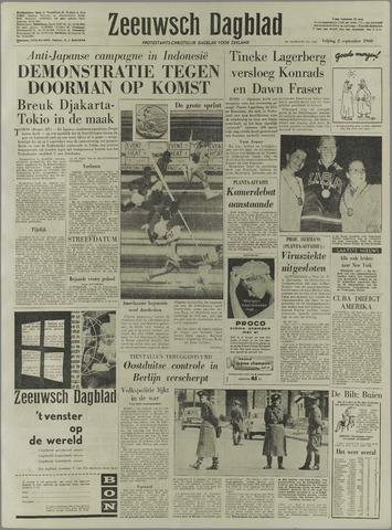 Zeeuwsch Dagblad 1960-09-02