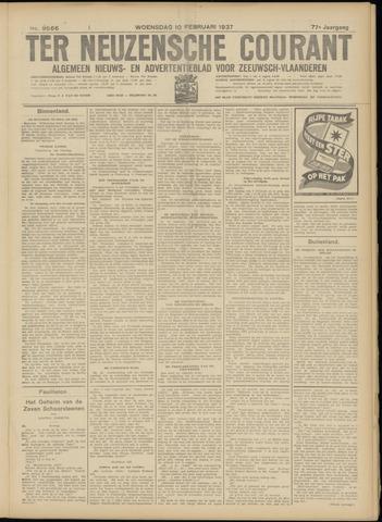 Ter Neuzensche Courant. Algemeen Nieuws- en Advertentieblad voor Zeeuwsch-Vlaanderen / Neuzensche Courant ... (idem) / (Algemeen) nieuws en advertentieblad voor Zeeuwsch-Vlaanderen 1937-02-10