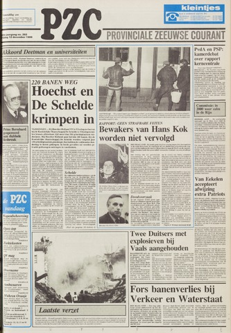 Provinciale Zeeuwse Courant 1986-12-12