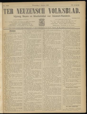 Ter Neuzensch Volksblad. Vrijzinnig nieuws- en advertentieblad voor Zeeuwsch- Vlaanderen / Zeeuwsch Nieuwsblad. Nieuws- en advertentieblad voor Zeeland 1913
