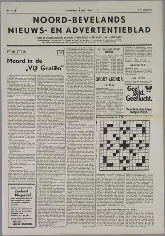Noord-Bevelands Nieuws- en advertentieblad 1984-04-26