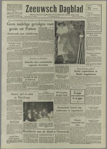 Zeeuwsch Dagblad 1958-01-21