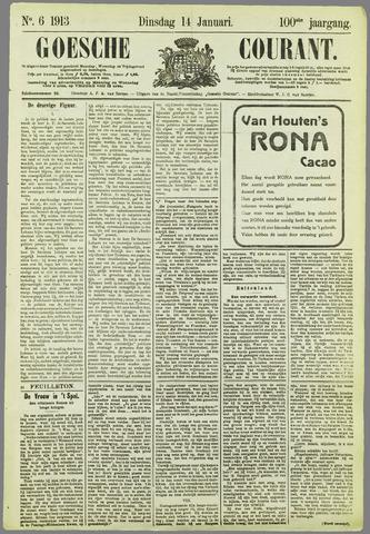 Goessche Courant 1913-01-14