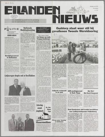 Eilanden-nieuws. Christelijk streekblad op gereformeerde grondslag 2004-05-04