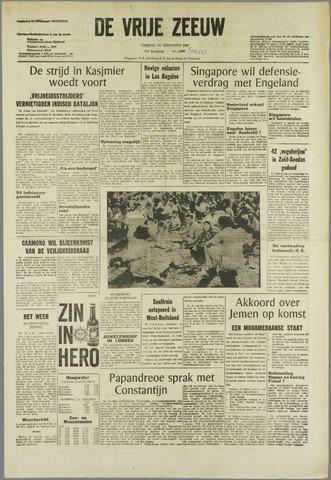 de Vrije Zeeuw 1965-08-13