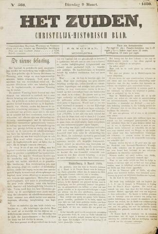 Het Zuiden, Christelijk-historisch blad 1880-03-09