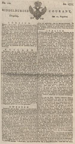 Middelburgsche Courant 1771-08-20