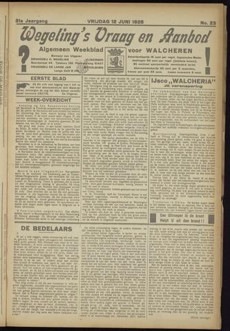 Zeeuwsch Nieuwsblad/Wegeling's Nieuwsblad 1925-06-12