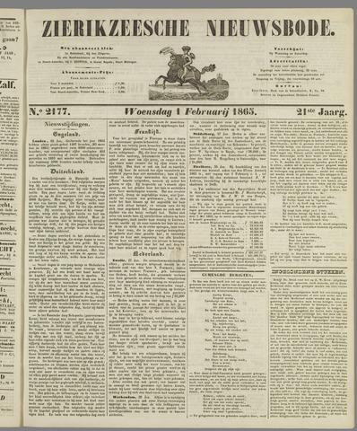 Zierikzeesche Nieuwsbode 1865-02-01
