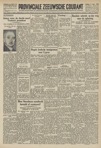 Provinciale Zeeuwse Courant 1946-08-09