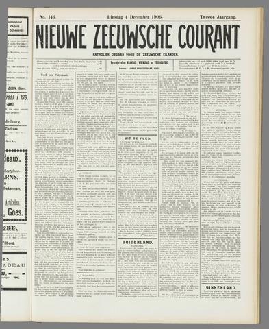 Nieuwe Zeeuwsche Courant 1906-12-04