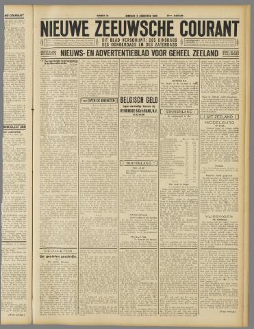 Nieuwe Zeeuwsche Courant 1930-08-05