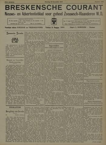 Breskensche Courant 1938-11-22
