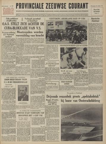 Provinciale Zeeuwse Courant 1962-10-24