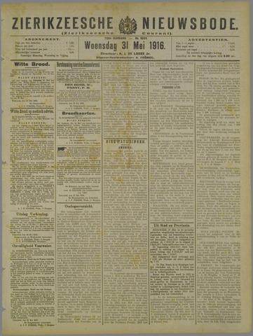 Zierikzeesche Nieuwsbode 1916-05-31