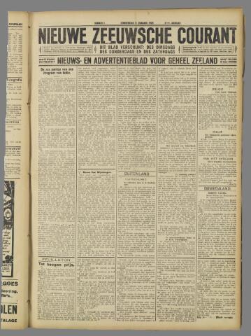 Nieuwe Zeeuwsche Courant 1925-01-08