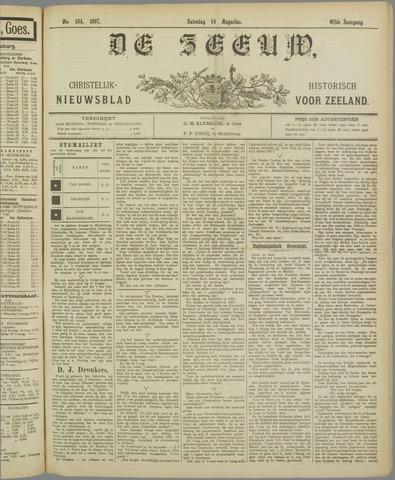 De Zeeuw. Christelijk-historisch nieuwsblad voor Zeeland 1897-08-14
