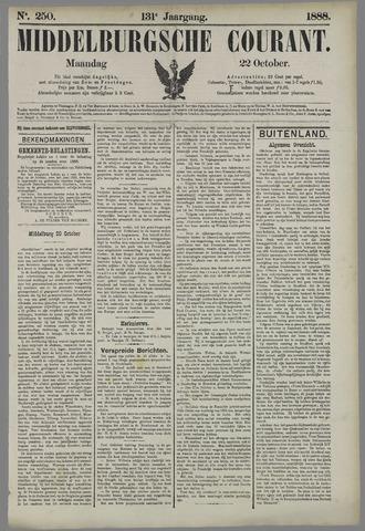 Middelburgsche Courant 1888-10-22
