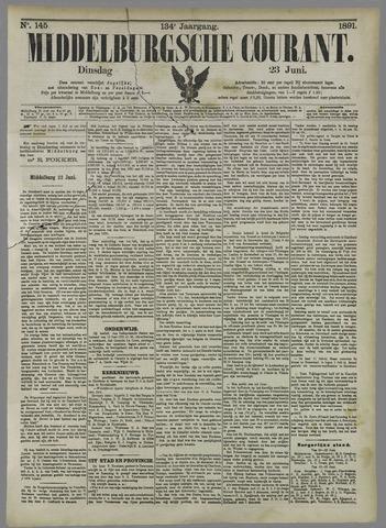 Middelburgsche Courant 1891-06-23