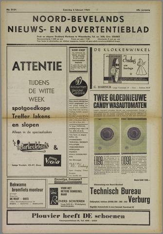Noord-Bevelands Nieuws- en advertentieblad 1965-02-06