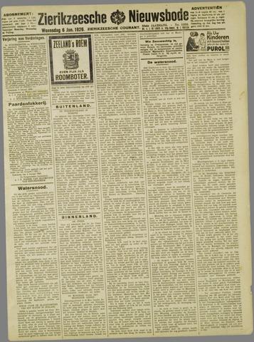 Zierikzeesche Nieuwsbode 1926-01-06